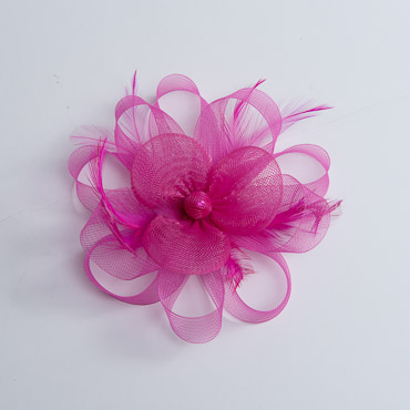 Crinoline Flower Loops Feather Horsehair Bow Trims Crinoline Bows