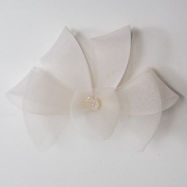 Peacock Shape Crinoline Horse Hair Bow Trims