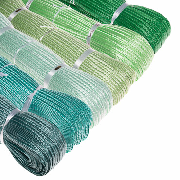 Shiny Polypropylene Straw Braid