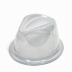 Clear Plastic Hat Holder Fedora Dome Stand Rack