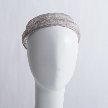 Dotted Medium Sinamay Bumper Millinery Bases
